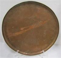 Hammered Copper & Aluminium Trays