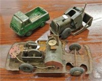 Antique Bulldozer Truck Lot