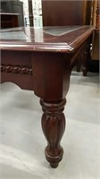 Modern Wood & Glass Top Coffee Table