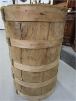 Banded Wooden Keg
