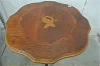 Marquetry Top Side Table