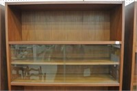 Vintage Teak Adjustable Shelf/Cabinet