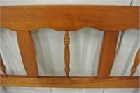 Single Maple Headboard & Rails