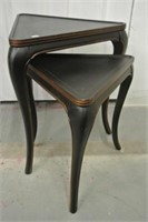Pair of Triangular Top Nesting Tables