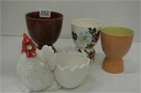Rooster Collector Egg Cups