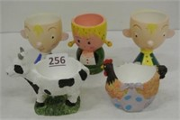 Vintage Collector Egg Cups
