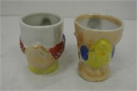 Oriental Porcelain Collector Egg Cups