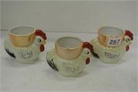 Oriental Porcelain Collector Egg Cups
