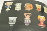 Egg Cup Collector Book Lot