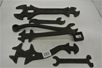 Variety of Primitive Wrenches