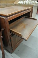 Solid Wood Entertainment Stand