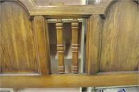Wood Grain Retro Headboard