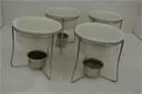2 Sets of Ceramic Butter Warmers