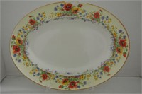 Mid 20th C Dinner Platters (3 Lot)