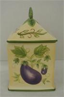 Lidded Glazed Pottery Box