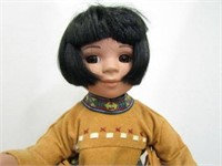 1970's Perillo Native Child Doll