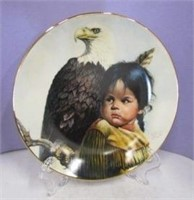 Indigenous Collector Plates (2 Lot)