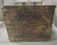 Early 20th Century Canadiana Butter Box
