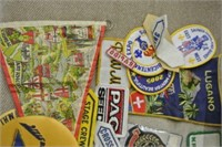 Retro Patches, Banners and More