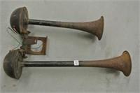 Antique Double Car Horn