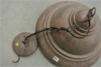Reproduction Copper Style Ceiling Light