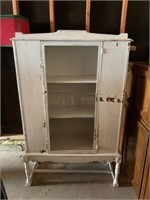 Antique Cabinet (front glass is broke)