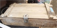 Vintage Wooden Ammo Box