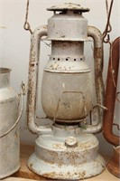 Bargain Lot: Old Lanterns, Cream Can,  Brass