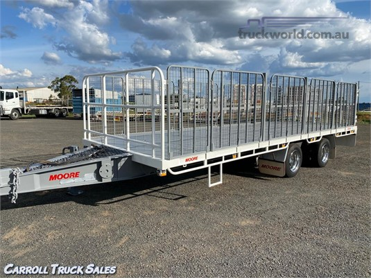 2012 Moore Tandem Tag Trailer Carroll Truck Sales Queensland - Trailers for Sale