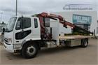 2009 Mitsubishi Fighter FM600 Crane Truck