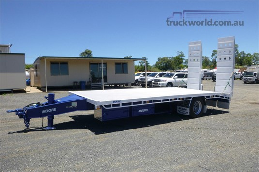 2014 Moore Plant Trailer With Ramps - Trailers for Sale