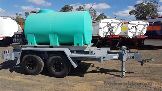1984 Ace Semi Trailer Water Tanker Trailer - Trailers for Sale