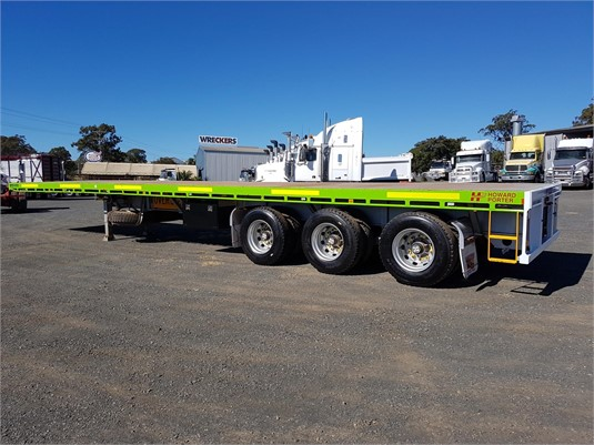 2014 Howard Porter Flat Top Trailer - Trailers for Sale