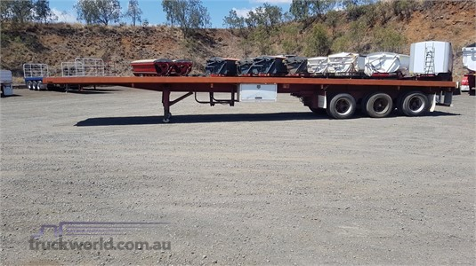 1993 Air Ride Flat Top Trailer - Trailers for Sale