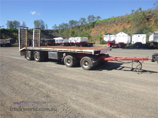 2014 Custom Plant Trailer With Ramps - Trailers for Sale