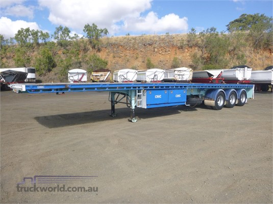 2012 Cimc Flat Top Trailer - Trailers for Sale