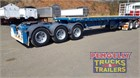 2014 Freighter Flat Top Trailer Semi Trailers