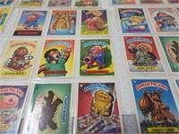 Group of 99 Garbage Pail kids card