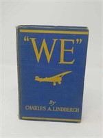WE By CHARLES A. LINDBERGH First Edition 1927