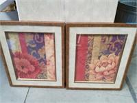 "Bundle of floral prints wall art 22""×27"""