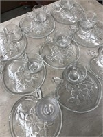 Box of glass dishes