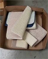 Box of floor mats