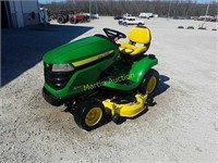 2014 JD X320 tractor +