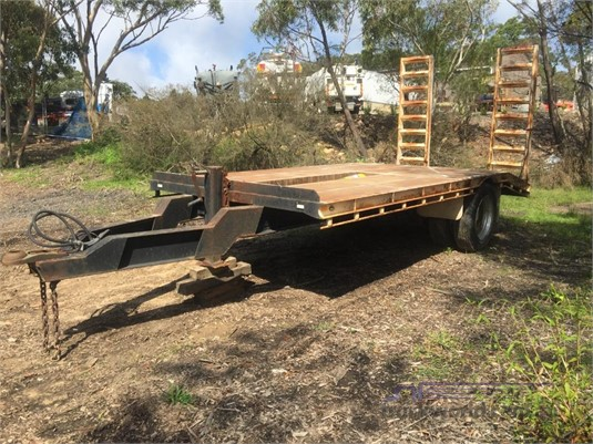2009 Blessington Plant Trailer With Ramps - Trailers for Sale