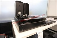 Insignia Stereo Receiver and ONKYO Speakers