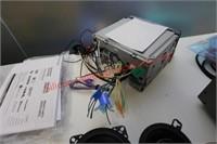 Kenwood Monitor & BlauPankt Speakers