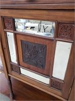 Antique victorian curio cabinet