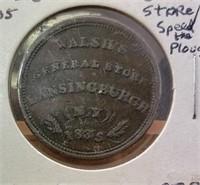 Tue. April 14 400 Lot Collector Coin & Paper Money Auction