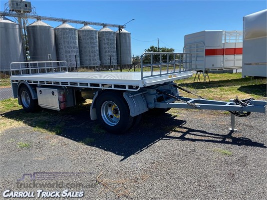 2011 Cimc Flat Top Trailer Carroll Truck Sales Queensland - Trailers for Sale