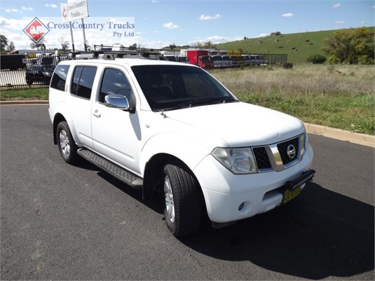 2006 NISSAN Pathfinder Cross Country Trucks Pty Ltd  - Light Commercial for Sale